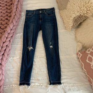 Just Black distressed jeans